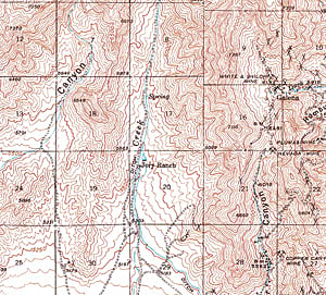 USGS quad historical map from 1940