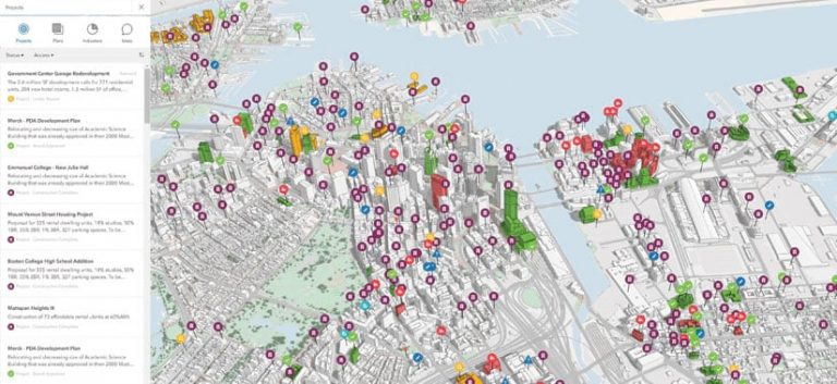 BPDA uses ArcGIS Urban