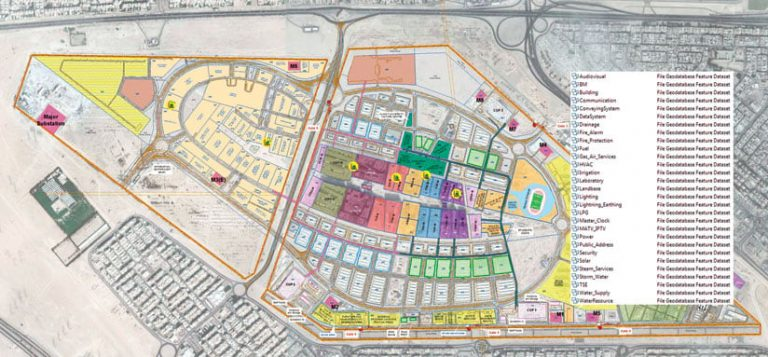 New Kuwait University Campus Incorporates GIS from the Outset