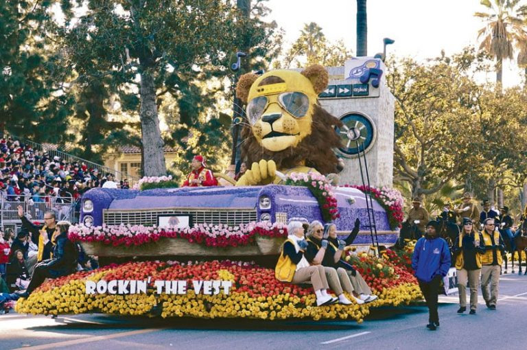 Rose Parade float, 2019