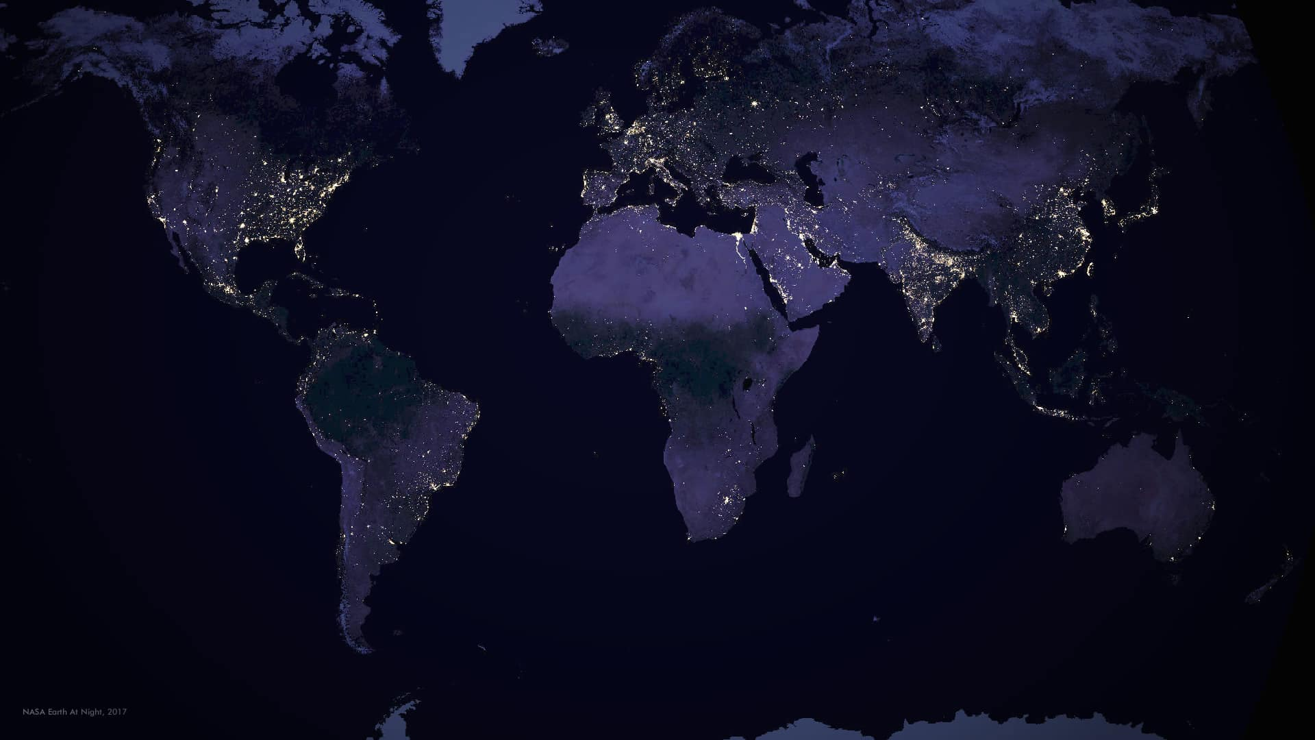 Viewpoint What Seeing The Earth At Night Reveals About Humanity