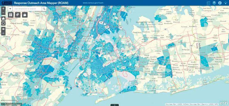 The Response Outreach Area Mapper (ROAM)