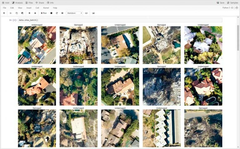 Improving Disaster Response with Deep Learning in ArcGIS