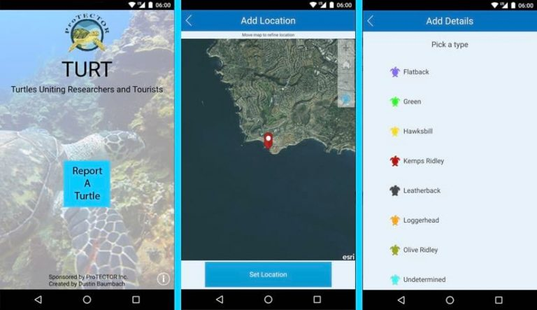 The TURT app engages citizen scientists
