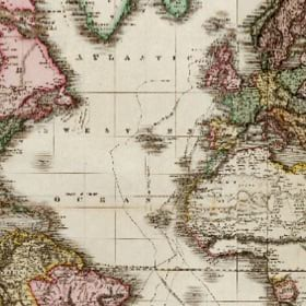 An old world map underscores how 'normal' changes often