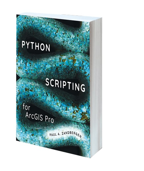 Cover of Python Scripting for ArcGIS Pro