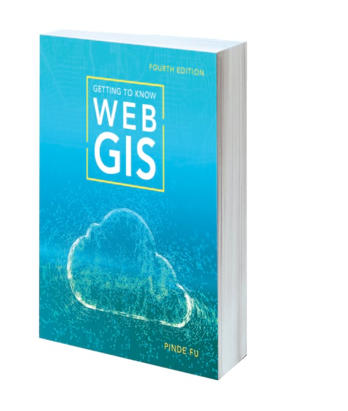 Cover of the fourth edition of Getting to Know Web GIS