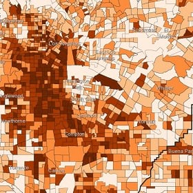 A snapshot of Mapping Black California