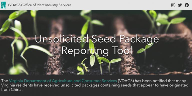 VDACS Reporting Site