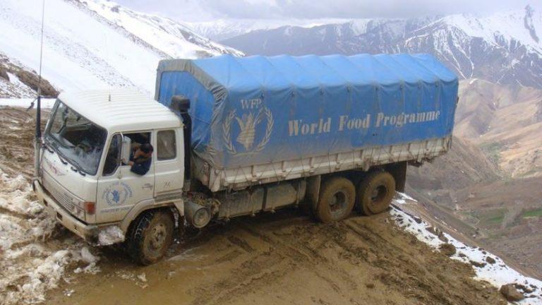 WFP truck in Afghanistan