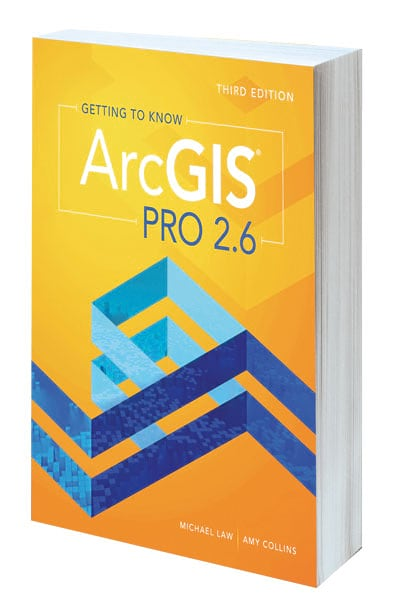 Cover of Getting to Know ArcGIS Pro 2.6, Third Edition