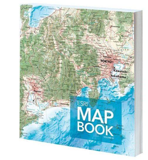 Cover of the Esri Map Book, Volume 35
