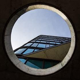 A circular city scape representing the circular economy