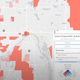 A GIS mapping analysis of dark stores