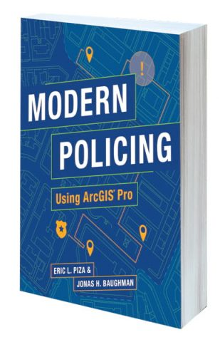 Modern Policing Using ArcGIS Pro book cover