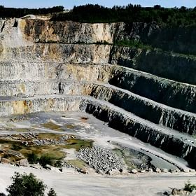 A mine site, symbolizing the need for tailings management