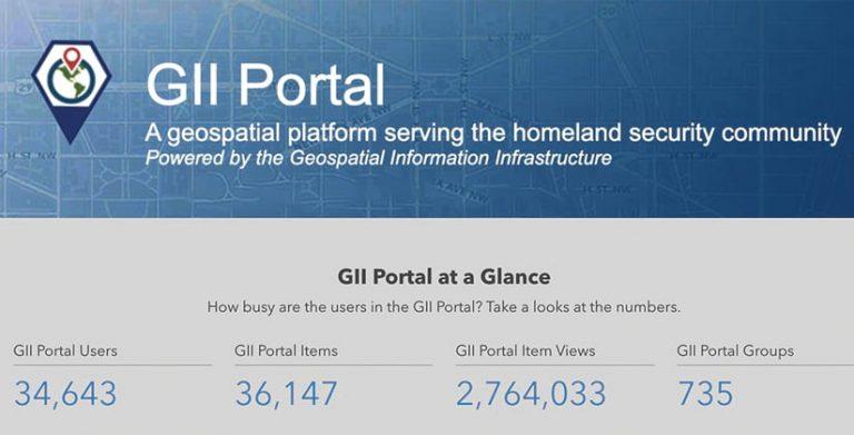 A screenshot of Ardent's GII Portal