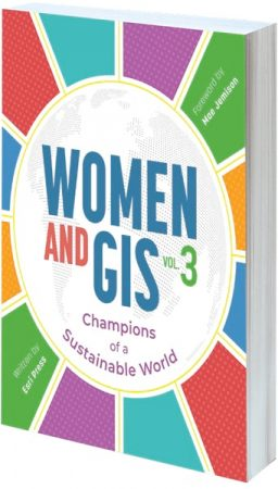 Cover of Women and GIS, Volume 3: Champions of a Sustainable World
