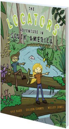 Cover of The Locators: Adventure in South America