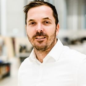 Richard Bezuidenhout, Swarovski manager of global distribution operations