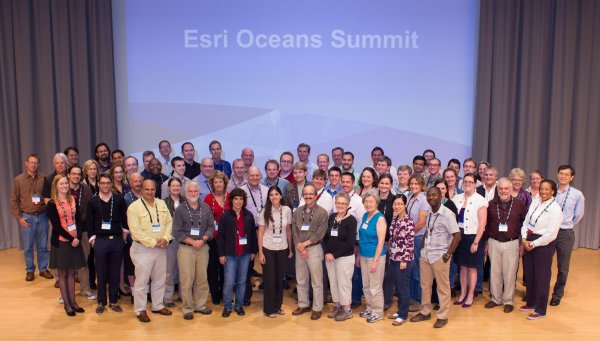Thanks to all of the participants for helping to set a new course for GIS in oceans science and management.