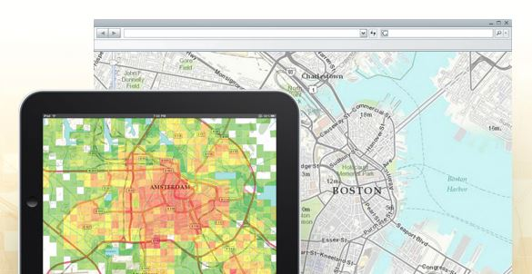 Esri's Community Maps program lets you share your map data with the world.