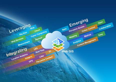 GIS is being transformed into web GIS, making GIS easier, always available,  and more social.