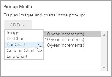 Chart Pop-up Media