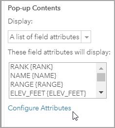 Configure Attributes