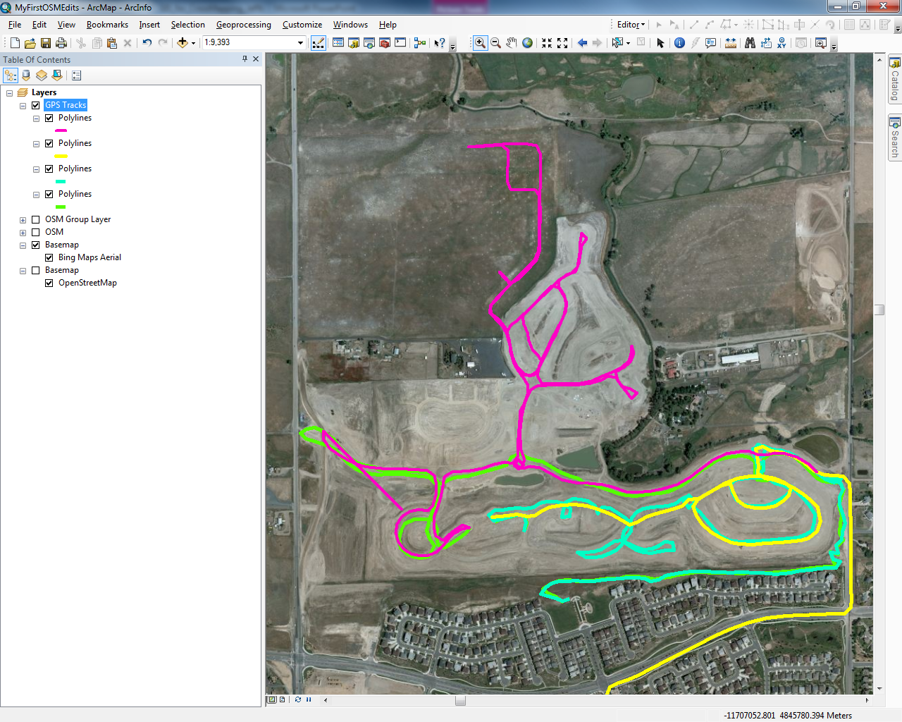 Hello Map! – Getting started with the ArcGIS Editor for OpenStreetMap