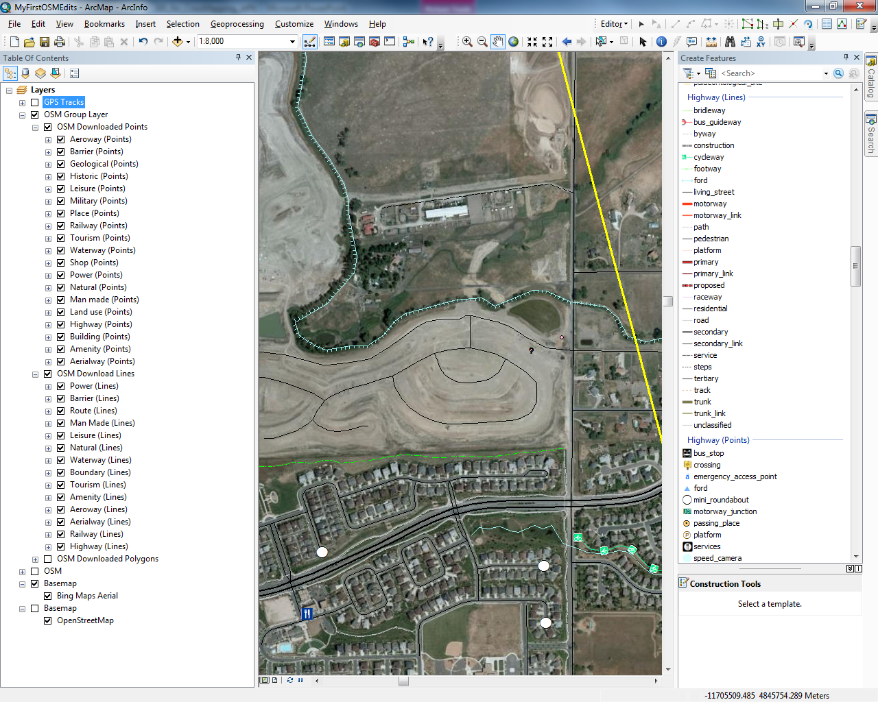 Hello Map! – Getting started with the ArcGIS Editor for