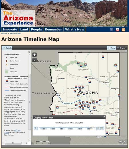 The Arizona Experience website