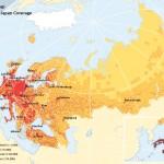World Street Map European Coverage