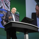 Jack Dangermond, President of Esri, at the Esri UC 2012