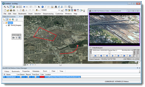 ArcGIS Full Motion Video Add-In 1.0