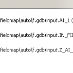 Field Map in the Append (Managemnet) tool dialog