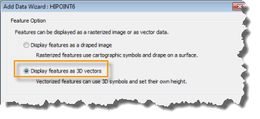 Display Points as 3D Vectors
