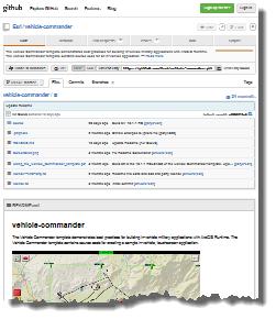 Vehicle Commander on GitHub