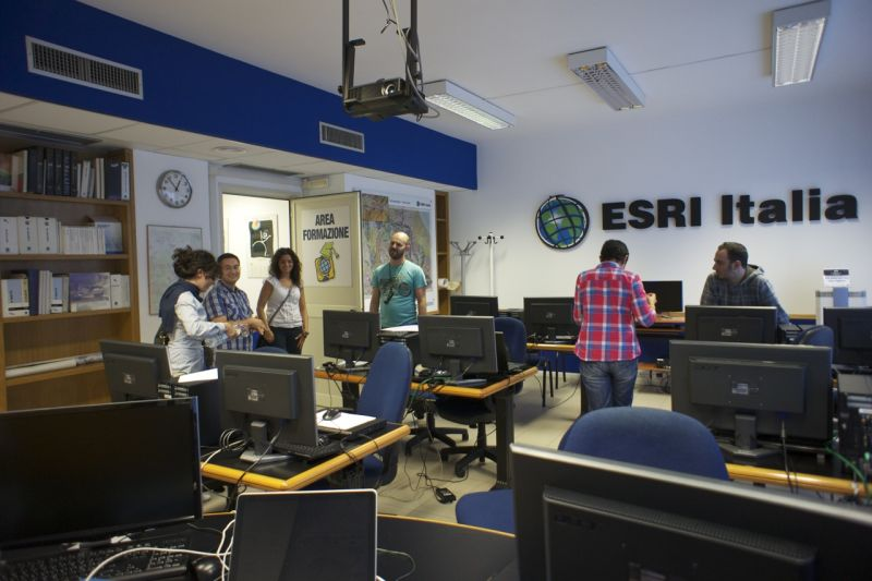 CityEngine training at Esri Italia