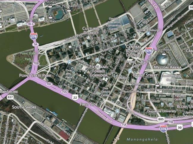 Using Bing basemaps in ArcGIS Online