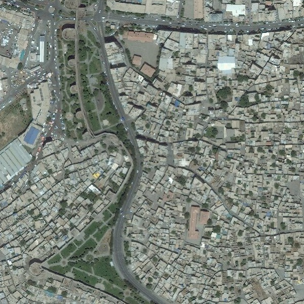 50cm DigitalGlobe imagery for Diyarbakir, Turkey