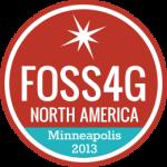 FOSS4G NA 2013 logo