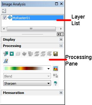 Processing Pane