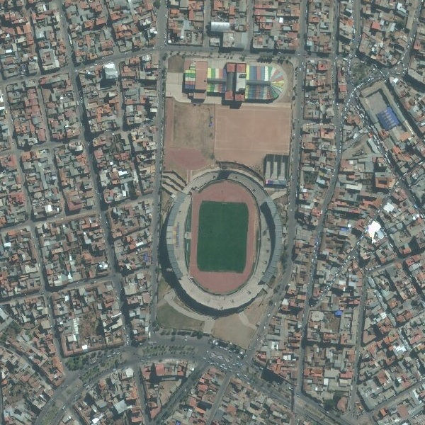 50cm DigitalGlobe imagery for Sucre, Bolivia