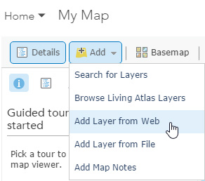 Using KML in ArcGIS Online web maps