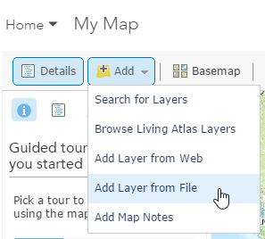 Using GPS data in ArcGIS Online web maps