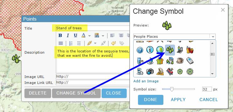 Editing Map Notes