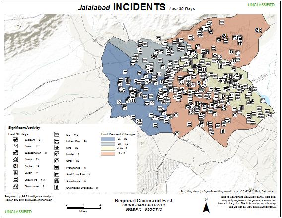 Incident Analysis Map