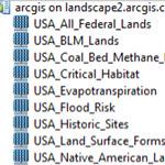 AGOL landscape services