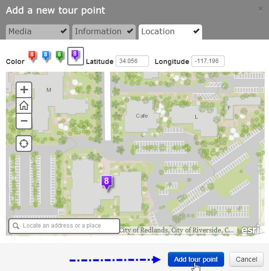 Add YouTube videos to your Story Map Tour